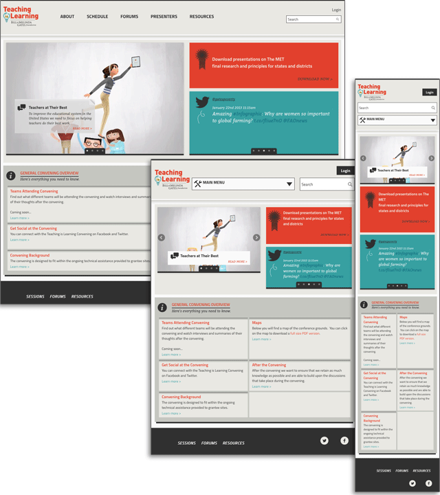 Gates foundation case study in responsive design