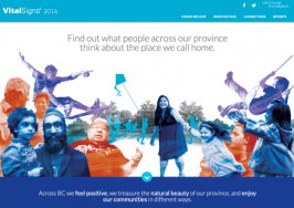 Vancouver Foundation Vital Signs Homepage thumbnail
