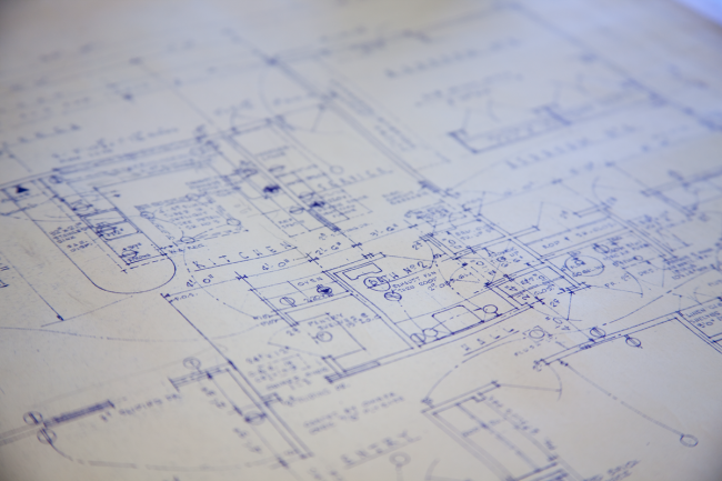 Blueprints Photo by Will Scullen, CC BY 2.0